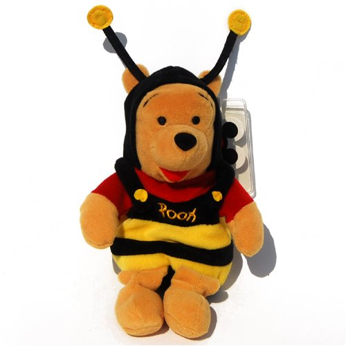 Bumble Bee Pooh - Disney Mini Bean Bag Plush - 1