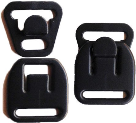 Best Prices! 3 Pairs KAMsnaps® Nursing Maternity Clips Clasps Plastic Hooks Front Closure Buckle fo...