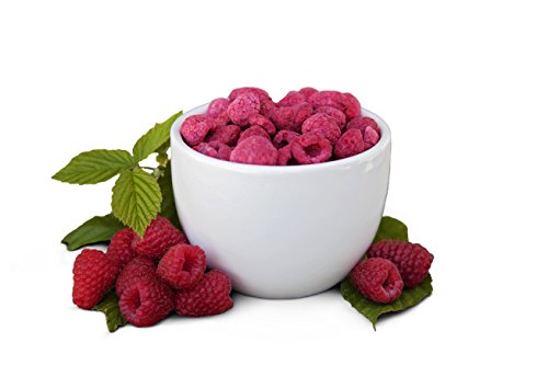 Freeze Dried Raspberries - Healthy Fruit Snacks - Perfect For Camping, Emergency Preparedness, And Snacking - By Valley Food Storage (3.5 Cups) (Bush Up Bar compare prices)