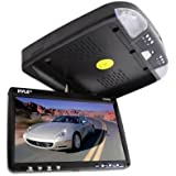 """Pyle PLRD92 - 9"""" Overhead LCD Screen with Built-in DVD Player"""