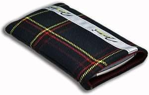 Norrun Handytasche / Handyhülle # Modell Herward # ersetzt die Handy-Tasche von Hersteller / Modell Sony Ericsson Xperia X1 # maßgeschneidert # mit einseitig eingenähtem Strahlenschutz gegen Elektro-Smog # Mikrofasereinlage # Made in Germany