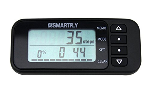 SMARTFLY Tri-axis Multifunction 7 Days Memory Digital Pedometer