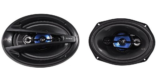 """Sony Xplod Xs-R Series Xs-R6944 6""""X9"""" 600 Watt 4-Way 4 Ohm Car Speakers With Low Distortion"""