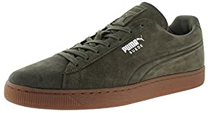 Puma Suede Classic Men's Fashion Sneakers Shoes Green Size 14