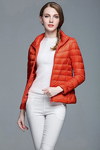 WJP donne ultra leggero rivestimento Packable gi? Outwear tampone piumino W-232