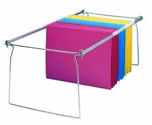 Charles Leonard Inc., File Frames, Hanging, Legal Size, Metal, 6/Box (960)