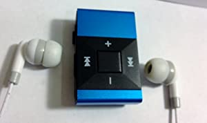 IRIDESCENT CUBE 4GB mini MP3 Player BLUE