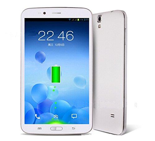 G-Anica 6.2 Zoll Phablet Smartphone (Unlocked Ohne Vertrag) Pill PC Dual Core Dual SIM Android 4.2.2 512M RAM 8GB ROM Bluetooth GPS WIFI