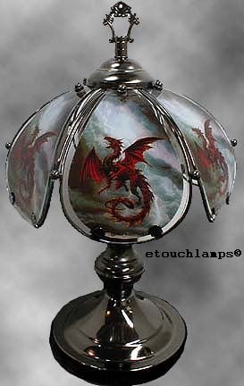 14 Inch Dragon Touch Lamp