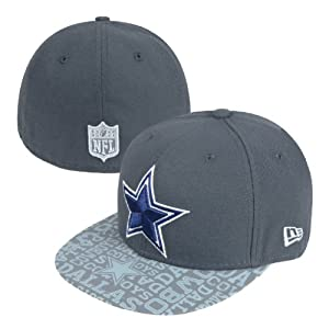 New Era Dallas Cowboys Reflective New Era 2014 Alternate Draft 59Fifty by New Era