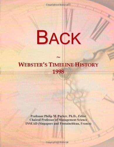 Back: Webster'S Timeline History, 1998