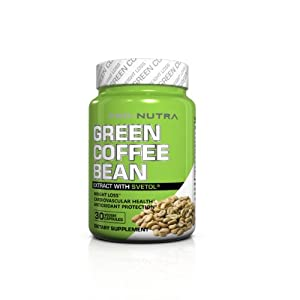 Lifestyle Health Pro-Nutra GCB Green Coffee Bean Extract with Svetol Weight Loss Support, 30 Count