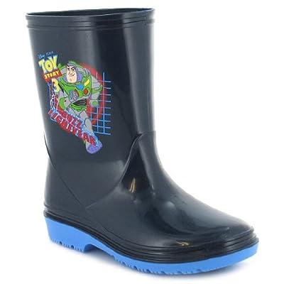 Boys Navy Toy Story Pvc Wellington Boots - Navy - UK 6-12