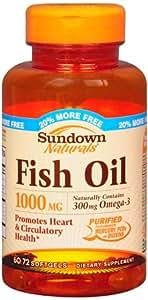 Sd fish oil 1000mg sftgl 45285 60tb rexall for Sfh fish oil