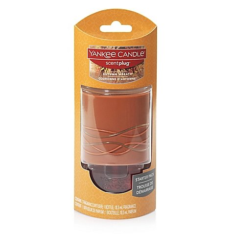 Yankee Candle Scentplug Autumn Wreath Base with Refill (Pier One Air Freshener compare prices)