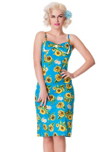 Hell Bunny Magali Pencil dress M - UK 12 / EU 40