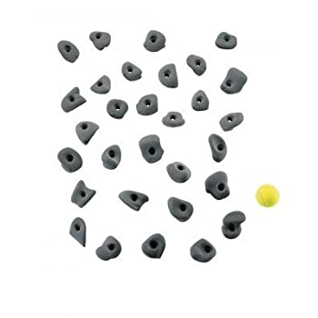 prises d'escalade Stone Pulse, Farbe:gelb
