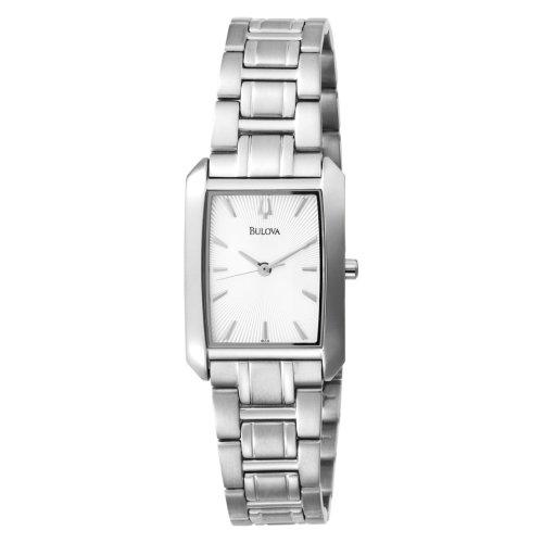 Bulova Women's 96L123 Bracelet Silver Dial Watch