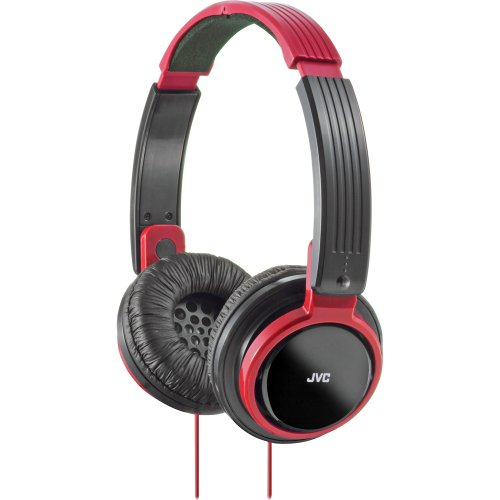 Jvc Has200R Riptidz High Quality Headphones (Red)