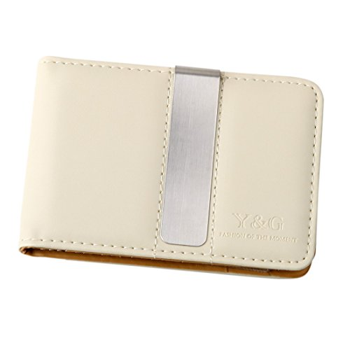 YCM0301 Black Mens Money Clip and Card Holder More Color Available By Y/&G