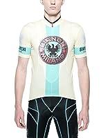 BIANCHI MILANO Maillot Ciclismo Venetico (Amarillo / Verde)