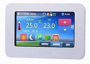 raumthermostat programmierbar touchscreen farb display benkuuki