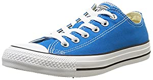 Converse Ctas Season Ox, Damen Sneakers, Blau (bleu Cyan), 36 EU