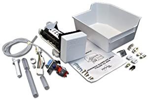 Whirlpool 1129313 Whirlpool Refrigerator Ice Maker Kit for Whirlpool, KitchenAid, Roper, and Estate
