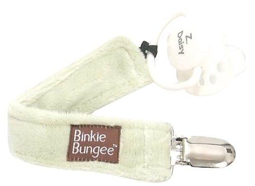 Z. Daisy Green Binkie Bungee Pacifier Clip