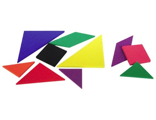 Teacher Created Resources Foam Tangrams (20610)