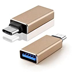 Generix USB Type-C OTG Adapter For LeEco Le Max 2/Le Max 2 (Gold)