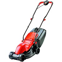 Flymo Easimo Electric Wheeled 900W 32cm Rotary Lawnmower (Orange/Black)
