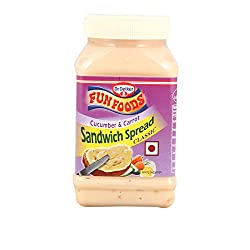 Fun Foods Sandwich Spread - Cucumber and Carrot, 275g Bottle