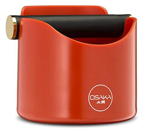 Osaka, Shock-Absorbent Espresso Knock Box - Durable 4.7 Inch Barista Style Knockbox