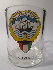 Kuwait Shot Glass