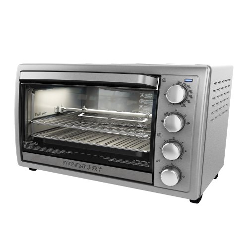 Black & Decker TO4314SSD Rotisserie Convection Countertop Toaster Oven, Silver (How To Get 1000 F compare prices)