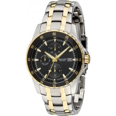 Accurist Men's Watches MB938B Two Tone Multidial