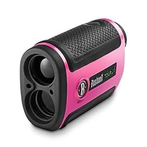 Bushnell 201927 Tour V2 Standard Golf Laser Rangefinder, Pink