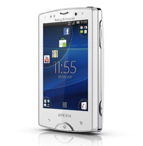 Sony+Ericsson+XPERIA+Mini+ST15i 海外simフリー+ホワイト 新型JAPAEMO製+SIMアダプタ付
