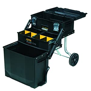 Stanley Consumer Storage Fаt Max 4-in1 Mobile Work Station fοr Tools аחԁ Pаrtѕ
