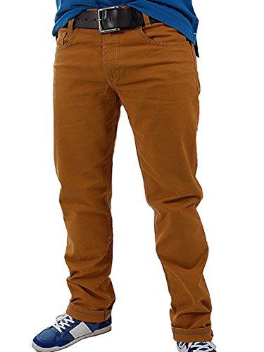 MAC Herren Jeans 0716 Arne 01-Stretch modern fit 32/34 ockerfarben