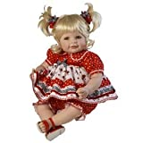Adora 20' Baby Doll Ladybug! Ladybug! (Green Eyes/Blonde Hair)