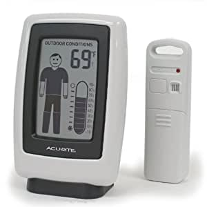 Amazon Com Acu Rite 00526w Wireless Outdoor Thermometer