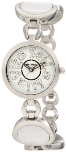 Haurex Italy XA349DWW Womens Seila Mia Vita White Dial Ceramic Watch