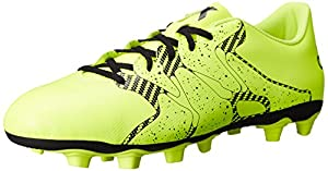 adidas Performance Men's X 15.4 Soccer Shoe, Solar Yellow/Core Black/Solar Yellow, 12.5 M US