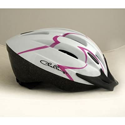Challenge Bike Helmet - Girls' with accompanying 3D Movement Bicycle Alarm by Challenge