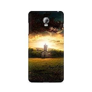 Mobicture Nature Church Premium Printed Case For Lenovo Vibe P1