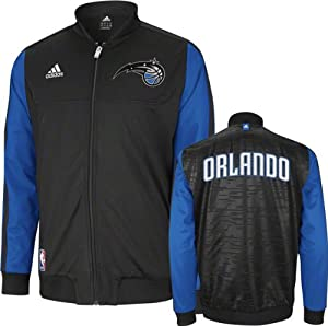 Orlando Magic adidas Home Weekend 2012-2013 Authentic On-Court Jacket - Black by adidas