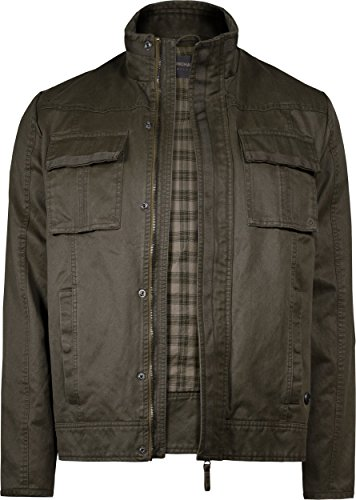 Musterbrand Uncharted Giacca Uomo Utopia Lightweight Vintage Look / Gaming Clothes Marrone S