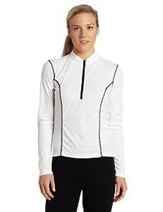 Canari Cyclewear Women's V2 Velocity II Jersey, White, Small
